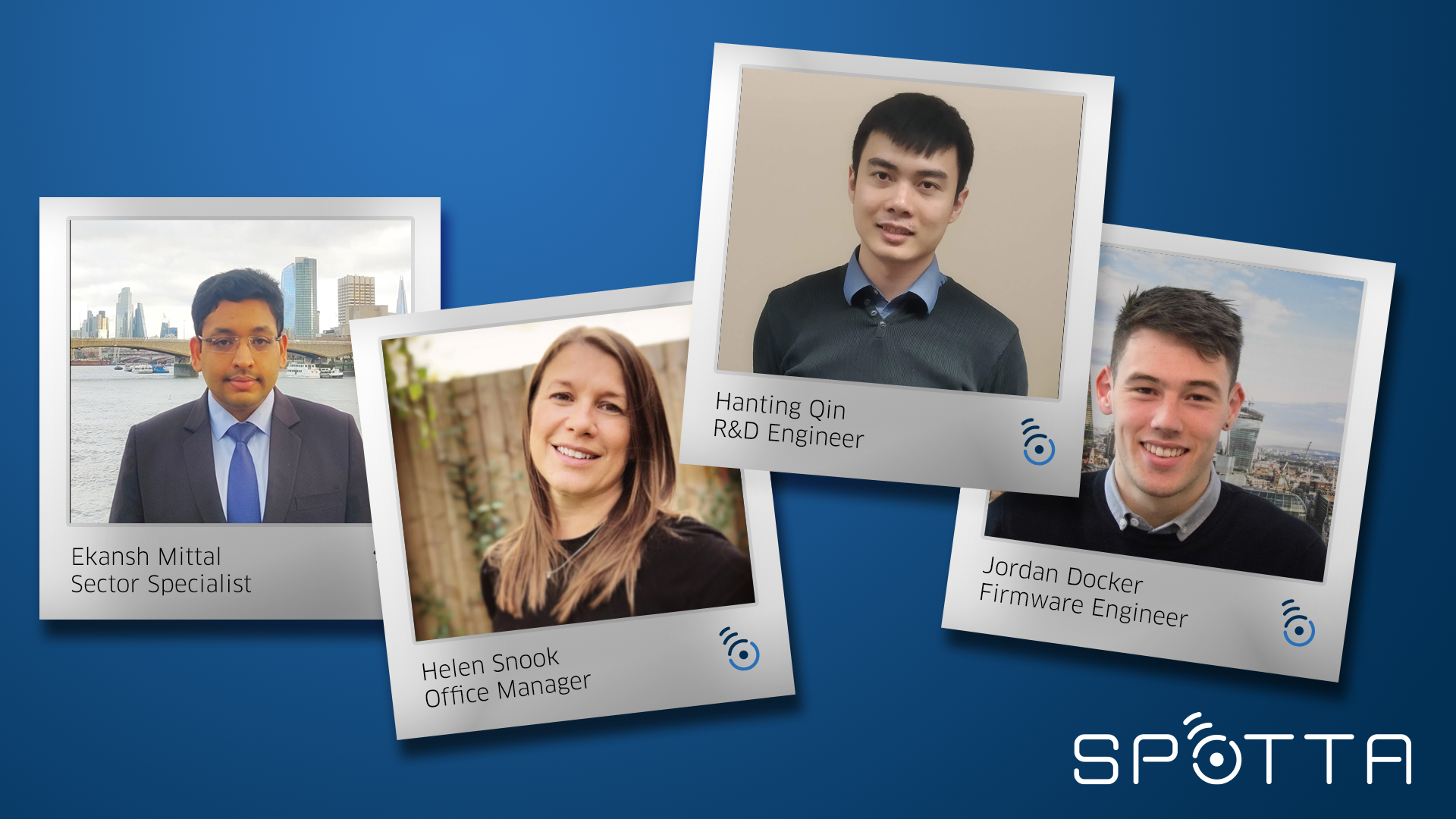 Meet the new team members at Spotta